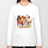 marauders Long Sleeve T-shirts featuring Marauders' Era group picture by Miho