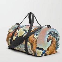 Wild Horses Duffle Bag