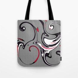 Whacky Swirls Tote Bag