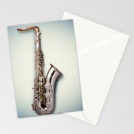 Tenor Saxophone Stationery Cards