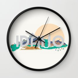 Beautiful Idaho Country Wall Clock