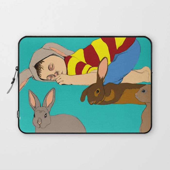 Bunny Boy Laptop Sleeve