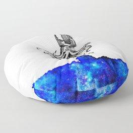 Space squid Floor Pillow