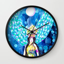 High Priestess Wall Clock