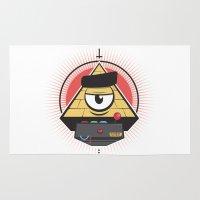 illuminati Area & Throw Rugs featuring Illuminati Remote control by Mcapmonsta