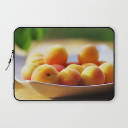 fresh apricots on the table Laptop Sleeve