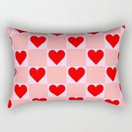 love heart pattern Rectangular Pillow