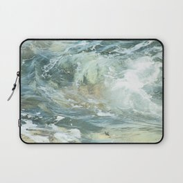Cushion me soft, rock me billowy drowse, Dash me with amorous wet. Laptop Sleeve