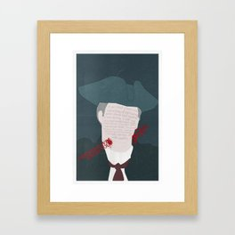 Daddy Issues Framed Art Print