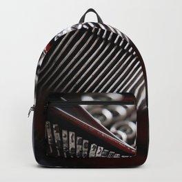 Typewriter Angled Backpack