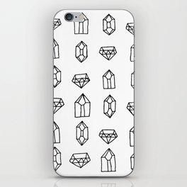Crystals + Gems iPhone Skin
