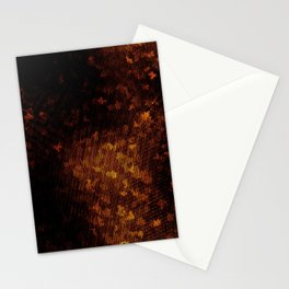 Scratched Crystallization Stationery Cards