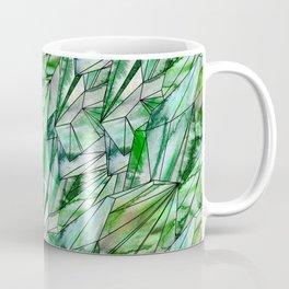 Crystal Emerald Green Gem 1 Coffee Mug
