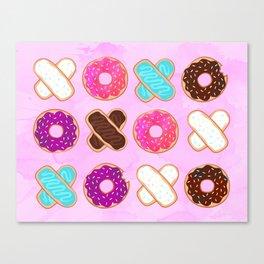 XOXO Donuts Canvas Print