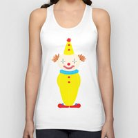 circus Tank Tops featuring Circus by Lydia Meiying