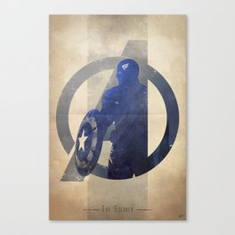 Avengers Assembled: The Soldier Canvas Print