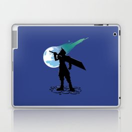 Cloud and the Meteor - Final Fantasy VII Laptop & iPad Skin