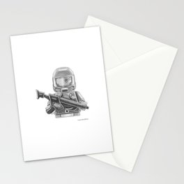 Future Warrior Stationery Cards