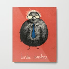 Birdie Sanders (Color Variation 2) Metal Print