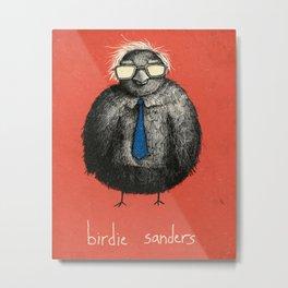 Birdie Sanders (Color Variation 2) Metal Print