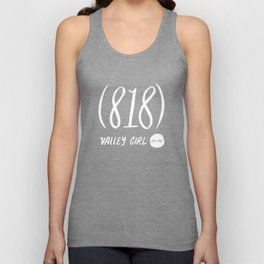 Valley Girl Unisex Tank Top