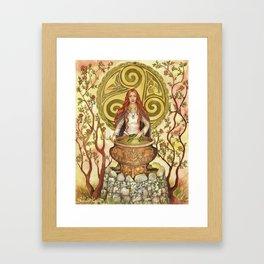 Ceridwen Framed Art Print