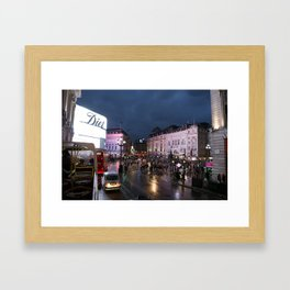 Picadilly Circus Framed Art Print