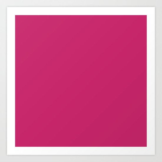 Fuchsia Ultra Pink Wall Decor,  Room Decor, Vanity Wall Art, Bathroom, Gift for Her by russovart
