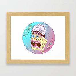 Psycho Candy Framed Art Print