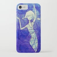 notebook iPhone & iPod Cases featuring notebook page by mloyan