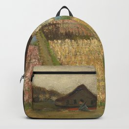 """Vincent van Gogh """"Bulb Fields, also known as Flower Beds in Holland"""" Backpack"""