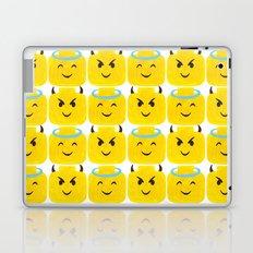 Emoji Minifigure Angel Devil Laptop & iPad Skin