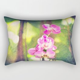 Orchid Impressions Rectangular Pillow