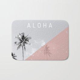 Island vibes - Aloha Bath Mat