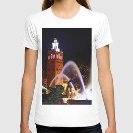 JC Nichols Memorial Fountain T-shirt