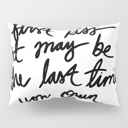 Quote, R. M. Drake Pillow Sham