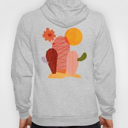 Abstraction_Cactus_&_Sun Hoody