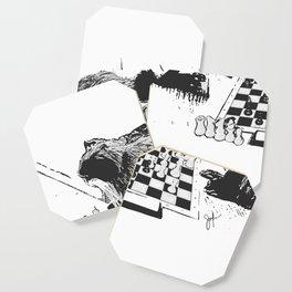Emperor's game Coaster
