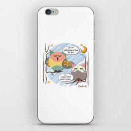 I {❤} OWL iPhone Skin