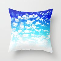 martell Throw Pillows featuring Under the Same Sky by G Martell