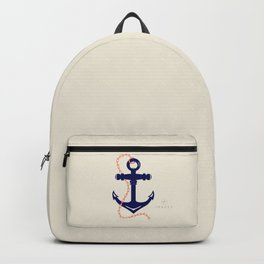 AFE Navy Anchor and Chain Backpack