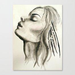 First Breath Canvas Print