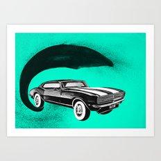 Mustang Car Art Print