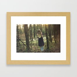 Into Wonderland Framed Art Print