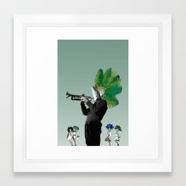 jazz3 Framed Art Print