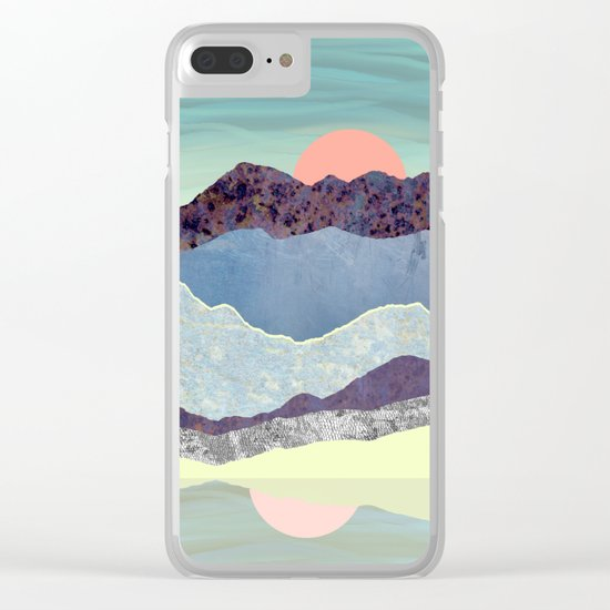 Summer Dawn Clear iPhone Case