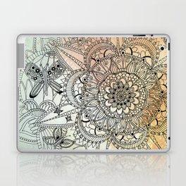 Butterfly Mandala Laptop & iPad Skin