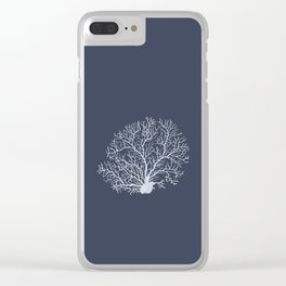 Faded Coral Clear iPhone Case