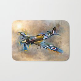 Spitfire Dawn Flight Bath Mat