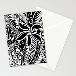 Tribal Tiare Stationery Cards